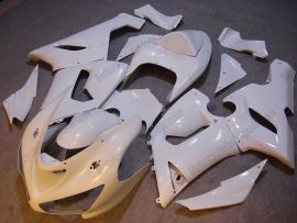 Kawasaki NINJA ZX6R 2005-2006 Injection ABS verkleidung - Factory Style - alle Weiß
