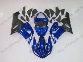 Kawasaki NINJA ZX6R 2005-2006 Injection ABS verkleidung - anderen - Blau/Schwarz