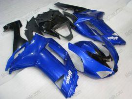 Kawasaki NINJA ZX6R 2007-2008 Injection ABS verkleidung - anderen - Blau/Schwarz
