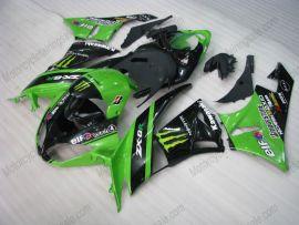 Kawasaki NINJA ZX6R 2009-2012 Injection ABS verkleidung - Monster - Grün/Schwarz
