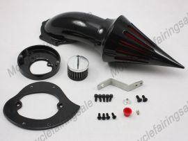 Honda VTX 1300 New Motorrad Spike Luftfilter Filter-Kit - das ganze Jahr - Schwarz