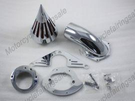 Yamaha neue Motorrad-Straßen Sterne 1600/1700 Spike Luftfilter Filter - chrome