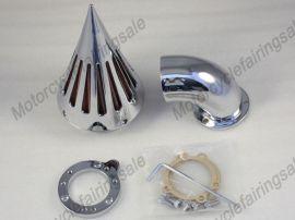 Harley S & S Reiniger Lufteinlassfilter Spike benutzerdefinierte Anwendung Vergaser -chrome
