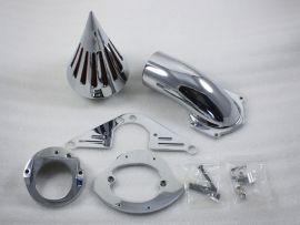 Honda Aero 750 neue Schattenspitze Einlassfilter Luftfilter-Kit das ganze Jahr - Chrom