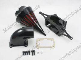 Yamaha Motorrad Krieger Spike Luftfilter Einlassfilter Kit 2002-2009 - schwarz