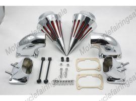 Suzuki Motorrad boulevard m109 Spike Luftfilter Einlassfilter Kit -Chrom