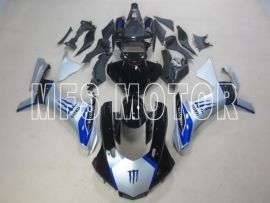 Yamaha YZF-R1 2015-2020 Injection ABS verkleidung - Factory Style - blau/Silber