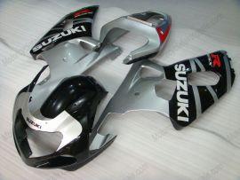 Suzuki GSX-R 1000 2000-2002 K1 K2 Injection ABS verkleidung - anderen - Schwarz/Silber