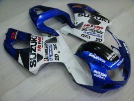 Suzuki GSX-R 1000 2000-2002 K1 K2 Injection ABS verkleidung - anderen - Blau/Weiß/Schwarz