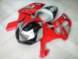 Suzuki GSX-R 1000 2000-2002 K1 K2 Injection ABS verkleidung - anderen - Rot/Schwarz