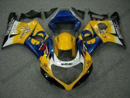 Suzuki GSX-R 1000 2000-2002 K1 K2 Injection ABS verkleidung - Corona - Gelb/Blau/Schwarz