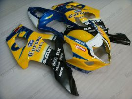 Suzuki GSX-R 1000 2003-2004 K3 Injection ABS verkleidung - Corona - Gelb/Schwarz/Blau