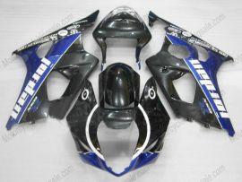 Suzuki GSX-R 1000 2003-2004 K3 Injection ABS verkleidung - Jordan - Schwarz/Blau