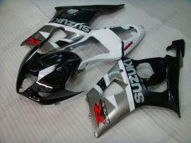 Suzuki GSX-R 1000 2003-2004 K3 Injection ABS verkleidung - anderen - Schwarz/Grau/Weiß