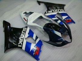 Suzuki GSX-R 1000 2003-2004 K3 Injection ABS verkleidung - anderen - Blau/Schwarz/Weiß