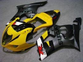 Suzuki GSX-R 1000 2003-2004 K3 Injection ABS verkleidung - anderen - Grau/Gelb