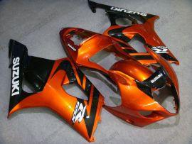 Suzuki GSX-R 1000 2003-2004 K3 Injection ABS verkleidung - anderen - Orange/Schwarz