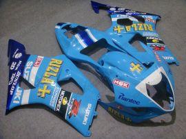 Suzuki GSX-R 1000 2003-2004 K3 Injection ABS verkleidung - Rizle+ - Blau