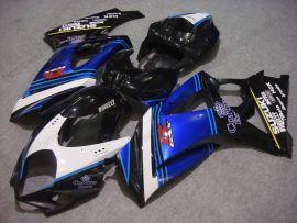 Suzuki GSX-R 1000 2007-2008 K7 Injection ABS verkleidung - Corona - Schwarz/Blau