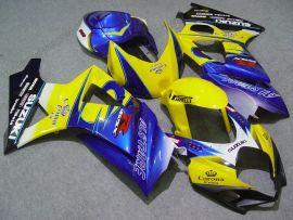 Suzuki GSX-R 1000 2007-2008 K7 Injection ABS verkleidung - Corona - Gelb/Blau