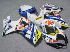 Suzuki GSX-R 1000 2007-2008 K7 Injection ABS verkleidung - Dark Dog - Weiß/Blau
