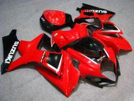 Suzuki GSX-R 1000 2007-2008 K7 Injection ABS verkleidung - anderen - Rot/Schwarz