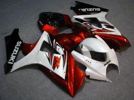 Suzuki GSX-R 1000 2007-2008 K7 Injection ABS verkleidung - anderen - Rot/Weiß