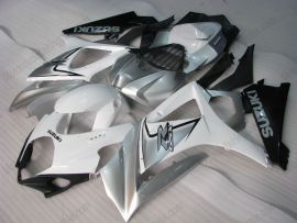 Suzuki GSX-R 1000 2007-2008 K7 Injection ABS verkleidung - anderen - Weiß/Schwarz/Silber