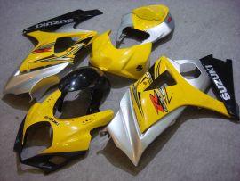 Suzuki GSX-R 1000 2007-2008 K7 Injection ABS verkleidung - anderen - Gelb/Schwarz/Silber
