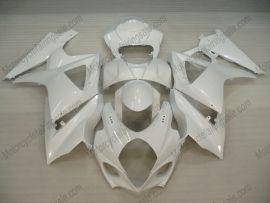 Suzuki GSX-R 1000 2007-2008 K7 Injection ABS verkleidung - Factory Style - alle Weiß