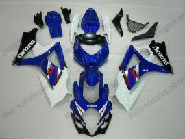Suzuki GSX-R 1000 2007-2008 K7 Injection ABS verkleidung - anderen - Blau/Weiß