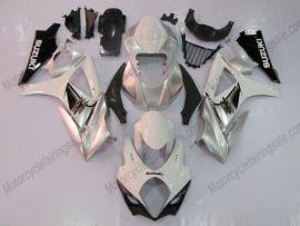 Suzuki GSX-R 1000 2007-2008 K7 Injection ABS verkleidung - anderen - Silber/Weiß