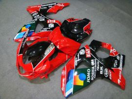 Suzuki GSX-R 1000 2009-2012 K9 Injection ABS verkleidung - JOMO - Rot/Schwarz