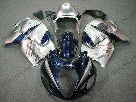Suzuki GSX-R 1300 Hayabusa 1996-2007 Injection ABS verkleidung - anderen - tiefblau/Silber