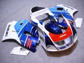 Suzuki GSX-R 600/750 1997-1999 ABS verkleidung - anderen - Blau/Weiß/Rot