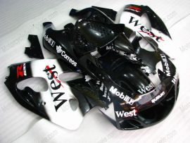 Suzuki GSX-R 600/750 1997-1999 ABS verkleidung - West - Schwarz/Weiß