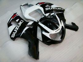 Suzuki GSX-R 600/750 2001-2003 K1 K2 Injection ABS verkleidung - anderen - Schwarz/Weiß