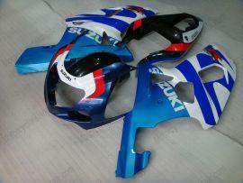 Suzuki GSX-R 600/750 2001-2003 K1 K2 Injection ABS verkleidung - anderen - Blau/Weiß/Schwarz