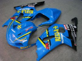 Suzuki GSX-R 600/750 2001-2003 K1 K2 Injection ABS verkleidung - Rizla+ - Blau/Schwarz