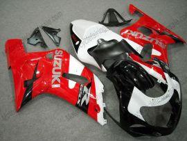 Suzuki GSX-R 600/750 2001-2003 K1 K2 Injection ABS verkleidung - anderen - Rot/Weiß/Schwarz