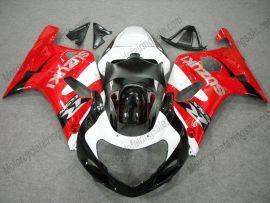 Suzuki GSX-R 600/750 2001-2003 K1 K2 Injection ABS verkleidung - anderen - blanco/negro/rojo