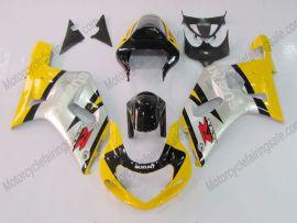 Suzuki GSX-R 600/750 2001-2003 K1 K2 Injection ABS verkleidung - anderen - Gelb/Schwarz/Silber
