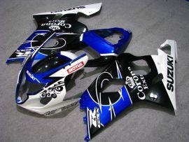 Suzuki GSX-R 600/750 2004-2005 K4 Injection ABS verkleidung - Corona - Schwarz/Blau/Weiß