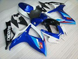 Suzuki GSX-R 600/750 2006-2007 K6 Injection ABS verkleidung - anderen - Blau/Schwarz/Weiß