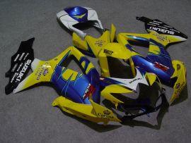 Suzuki GSX-R 600/750 2008-2010 K8 Injection ABS verkleidung - Corona - Gelb/Blau/Schwarz