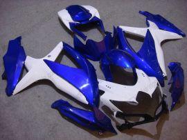 Suzuki GSX-R 600/750 2008-2010 K8 Injection ABS verkleidung - anderen - Blau/Weiß