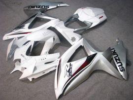 Suzuki GSX-R 600/750 2008-2010 K8 Injection ABS verkleidung - anderen - Weiß/Silber