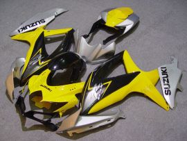 Suzuki GSX-R 600/750 2008-2010 K8 Injection ABS verkleidung - anderen - Gelb/Schwarz/Silber