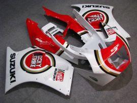 Suzuki RGV250 VJ21 ABS verkleidung - Lucky Strike - Rot/Weiß