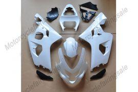 Suzuki GSX-R 600/750 2004-2005 K4 Injection ABS Unlackiert verkleidung - Weiß